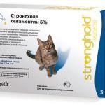 Стронгхолд для кошек: двойной удар по паразитам