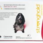 Стронгхолд для собак: препарат двойного действия