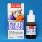 Лечение кошачьего стресса эффективным препаратом